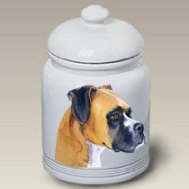 Boxer Fawn Cropped - Barbara Van Vliet Ceramic Treat Jars //  Description Doggie treat jars feature the watercolors of Vermont artist Barbara Van Vliet. //   Details  Brand: Best of Breed Dimensions: 10.00 h x 6.00 w x 6.00 l,5.00 pounds   Features  Jars are 10 tall Airtight sealable lid Bright white color// read more >>> http://Cagle740.tca9.com/detail3.php?a=B00HUUV2OQ