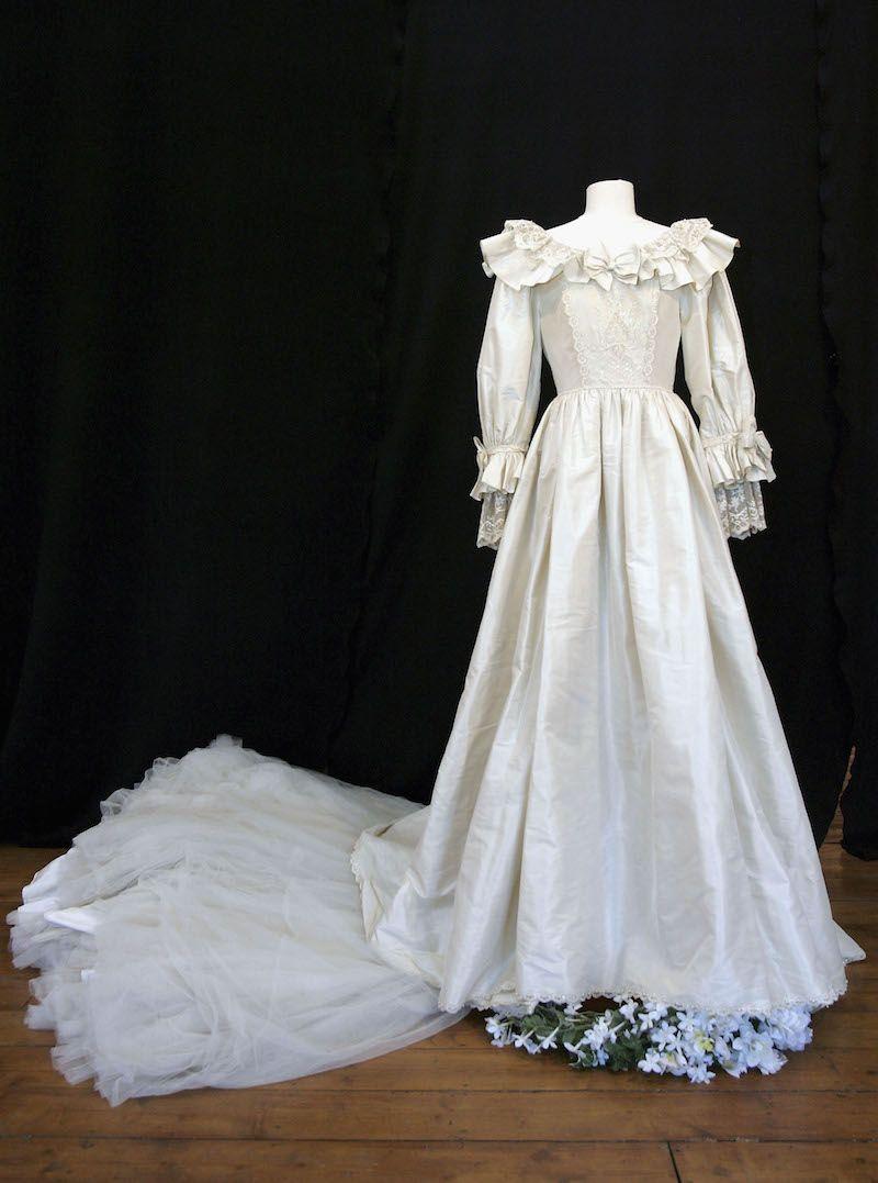 Secretos del vestido de novia de lady diana