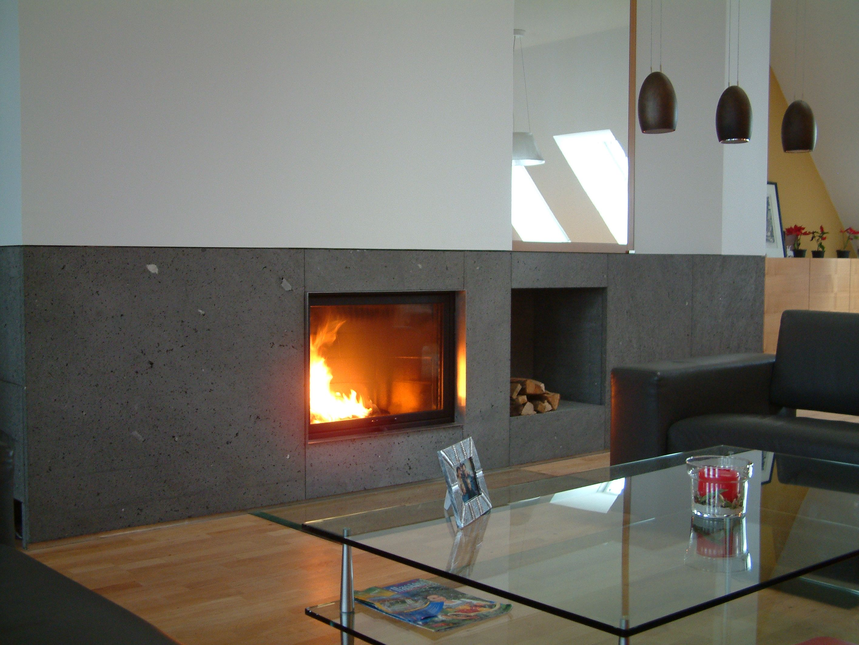 the h series three sided gas fireplace is vent free and features a