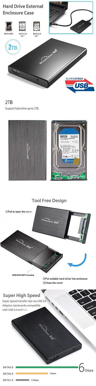 63fc31ae2945 External Hard Disk Drives 131553: External Backup Hard Drive Case 2Tb Usb  3.0 Enclosure 2.5 Portable Hdd Sata Ssd -… | External Hard Disk Drives  131553 ...