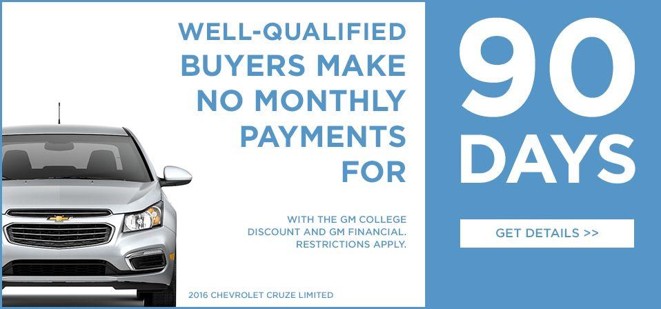 Gm College Discount College Discounts Chevrolet Cruze Cruze