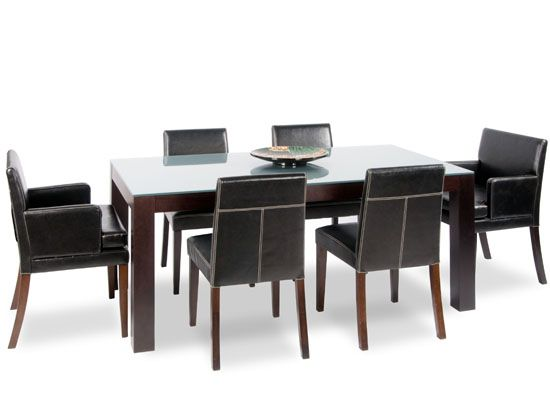 Dania The Tre Rectangular Dining Table In A Venge Stained