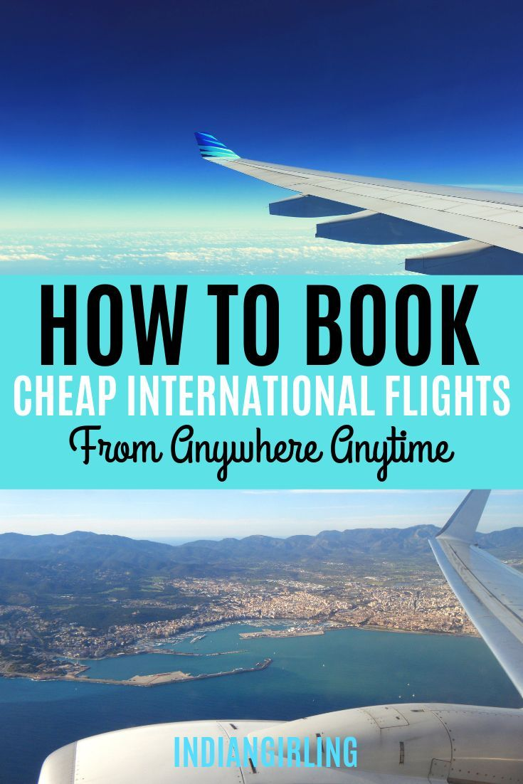 Are you a budget traveler or simply some one who doesn't want to waste money on an expensive flight ticket? I've collected the best tips to save money and find cheap international flights no matter where you plan to go! #hacks #howtofindcheapflights #howtogetcheapflights #website #toeurope #lastminute
