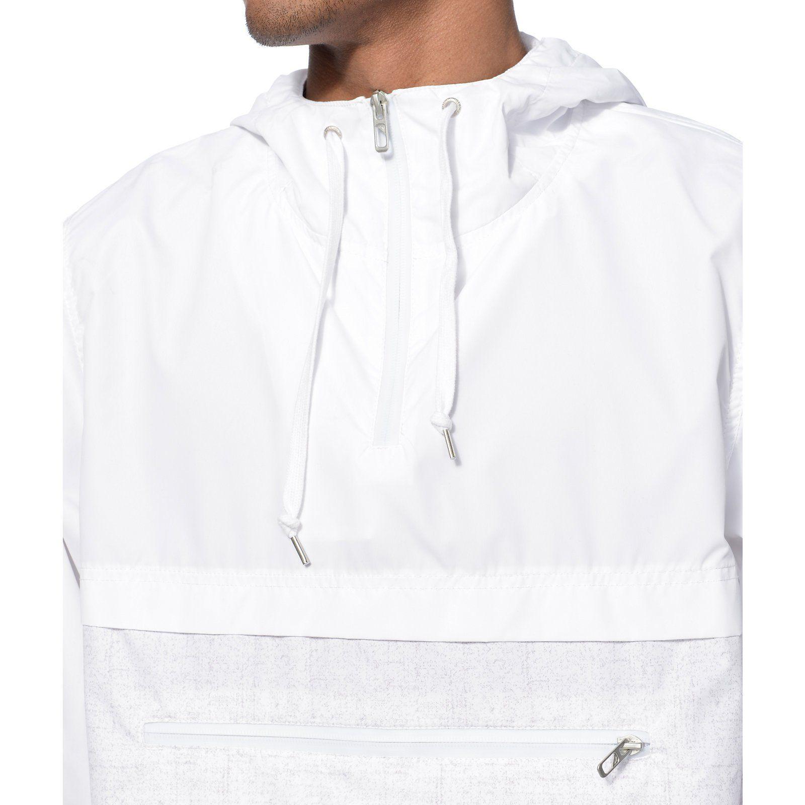 a77686e38 Empyre Transparent White Anorak Jacket   Style   Anorak jacket ...