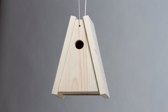 Bird's House House J by PlywoodOffice on Etsy
