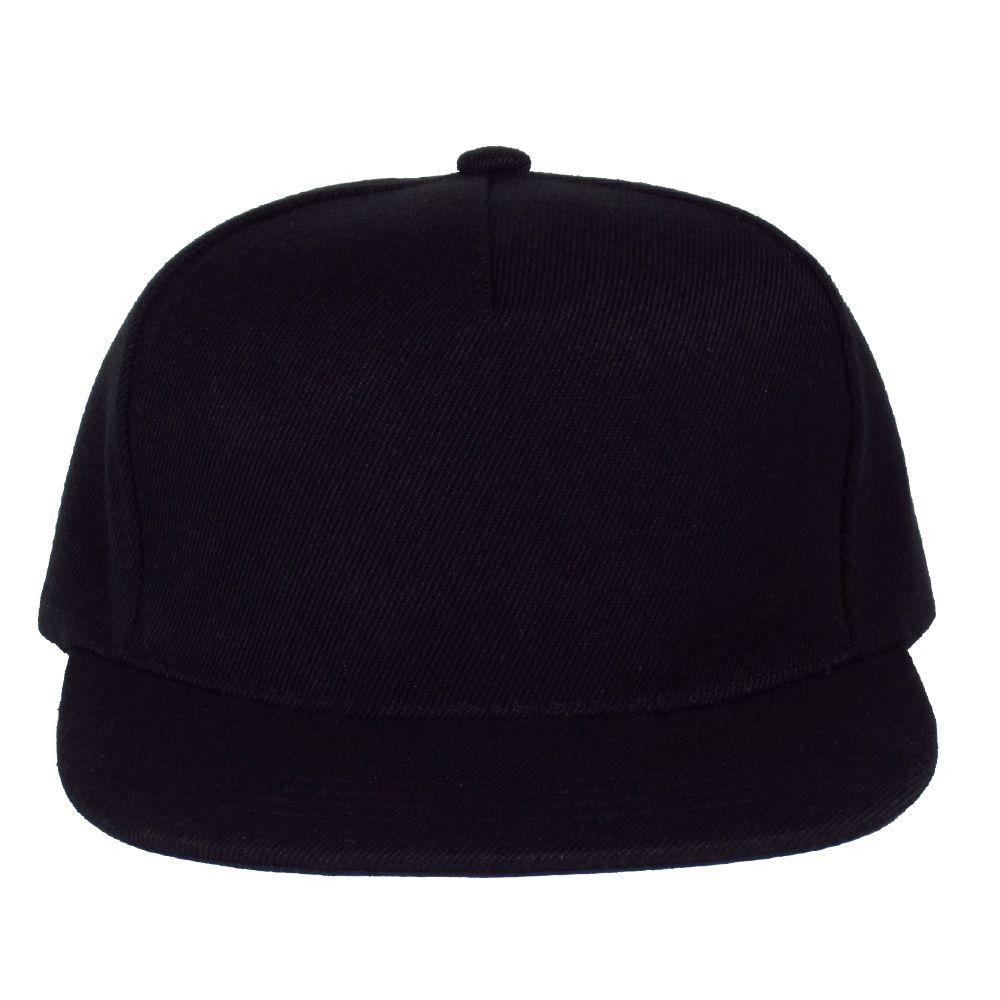 Cozy Blank Black Wool Square Flat blank hats  27f004b069e