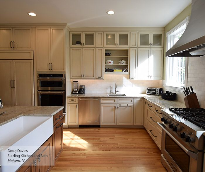 Best Image Result For Off White Cabinets With Brown Glaze Off 400 x 300