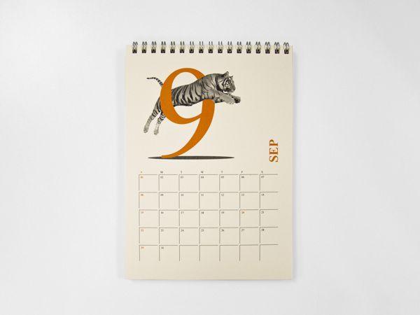 40 Most Creative 2013 Calendar Design Disenos De Unas Calendario