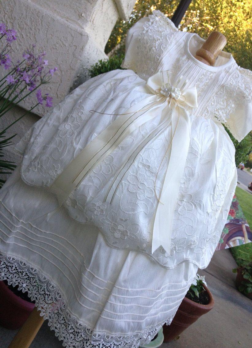 ropn de bautizo para nia girl baptism gown pc christening gown vestido para bautizo