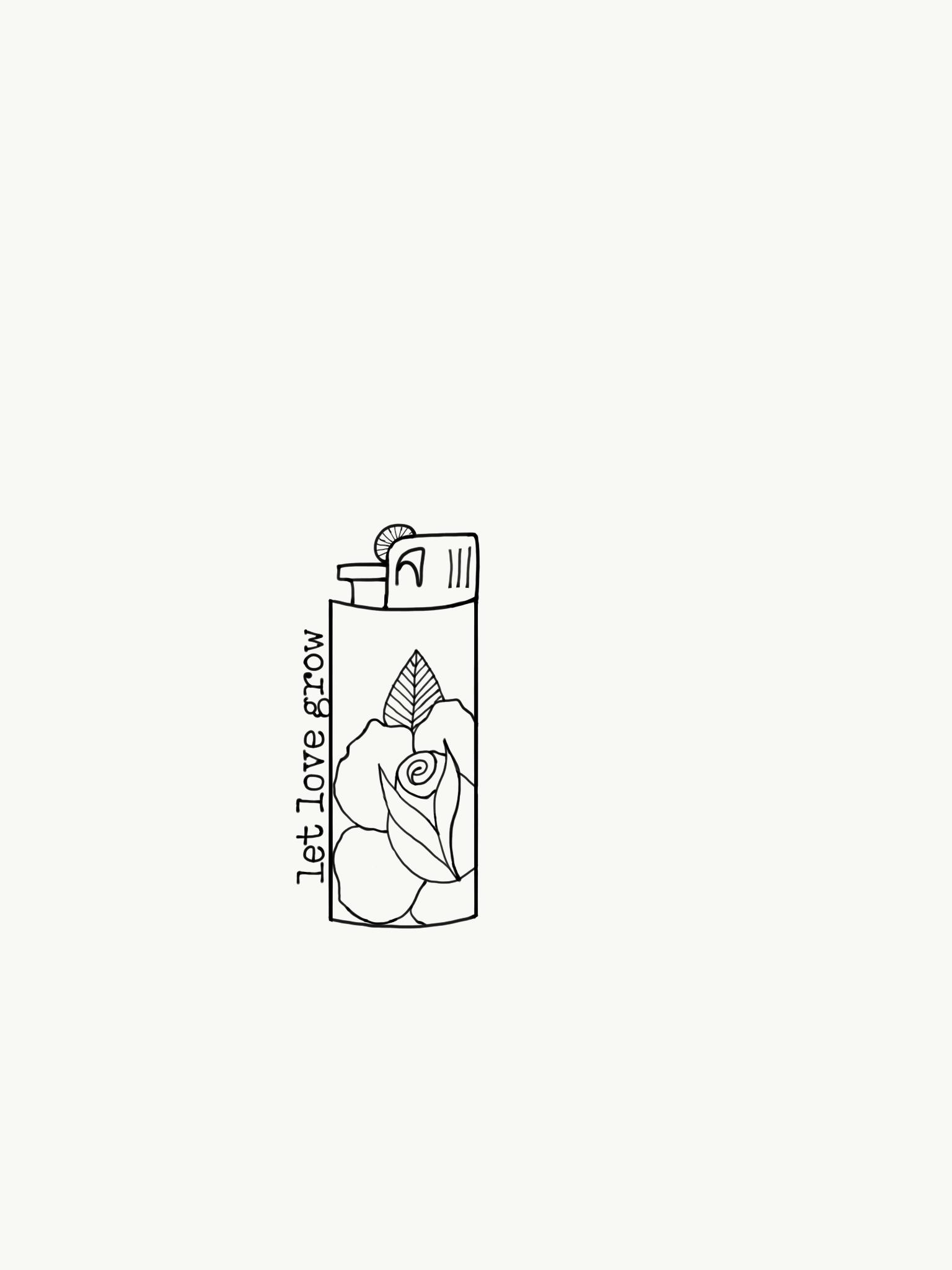 Mit Adobe Photoshop Sketch Erstellt Erhaltlich Unter Http Apple Co 1ffmnsi Mini Drawings Sketch Book Cute Simple Wallpapers