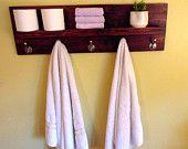 Rustice Bathroom Towel Racks by NewRusticCreations on Etsy