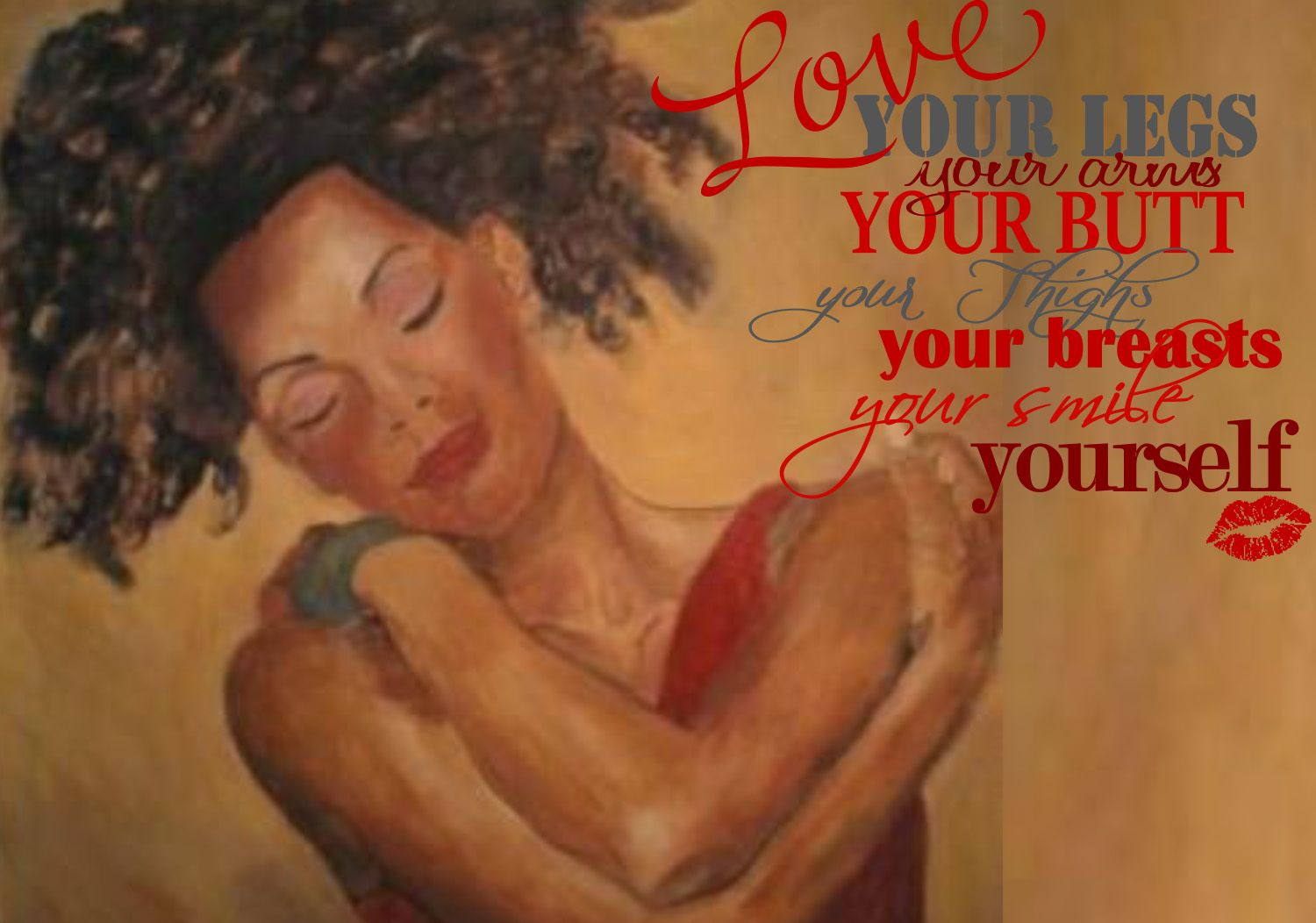 First Love Yourself www.MichelleCuttino.com Michelle Cuttino Big Body's Blog #LoveAndHappiness