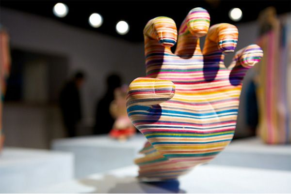 Sculptures made from used and broken skateboard decks. Check out the website to see more!