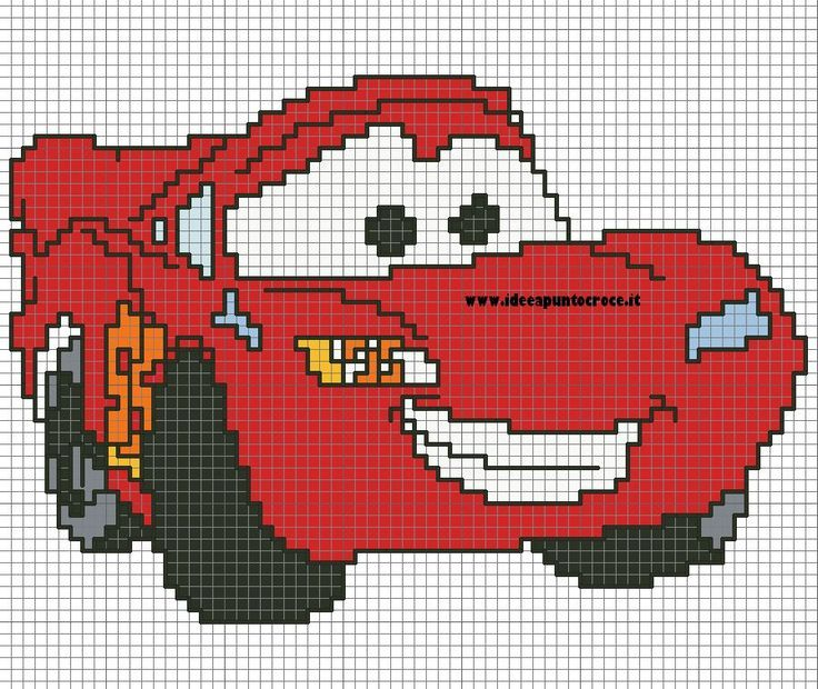 Afbeeldingsresultaat Voor Pixel Deken Haken Cars Pixelhaken