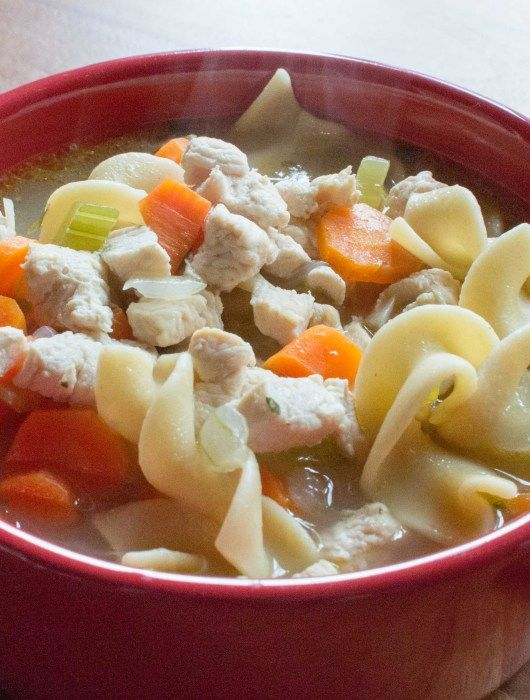 Chicken Noodle Soup For The Family Or Sick Toddler