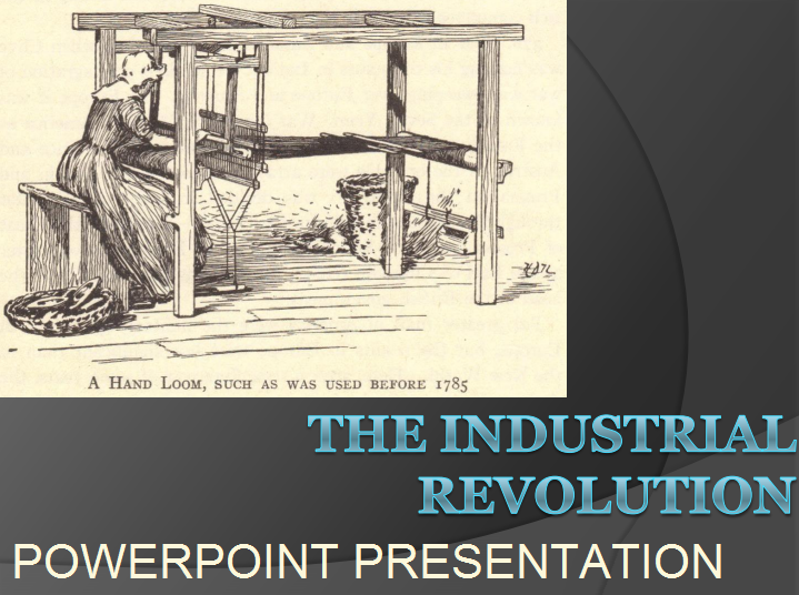 industrial revolution free powerpoint presentation for high school