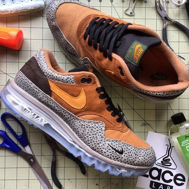 Nike Air Max 1 x 360 Safari Custom Hybrid
