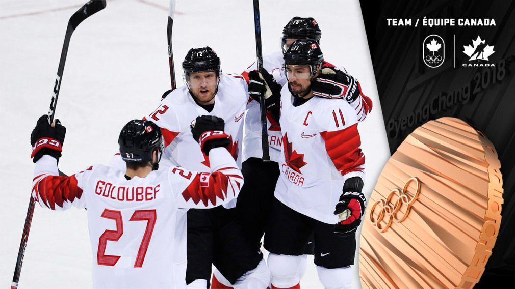Team Canada wins men's hockey bronze in PyeongChang Team
