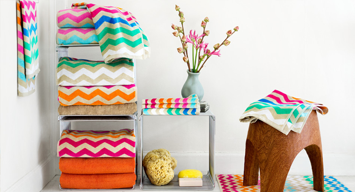 Colorful Towels by H&M Home (UK)