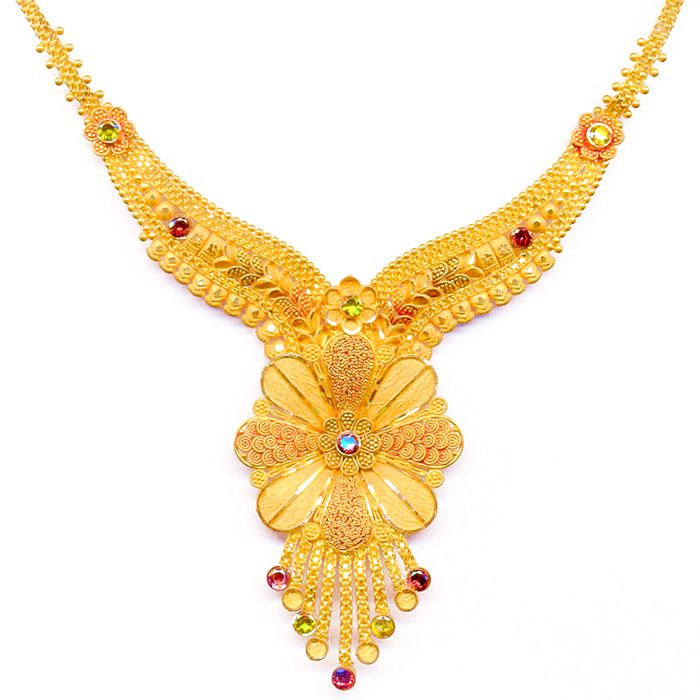 Necklaces Designs | latest gold necklace designs Latest Fashions ...