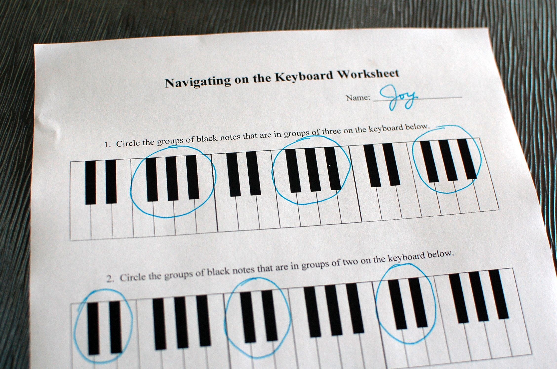 19 Music Worksheets To Download Amp Print