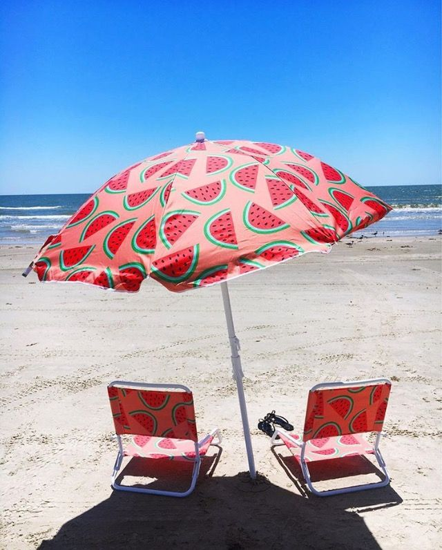 Cute Watermelon Umbrella Beach Chair Set Target