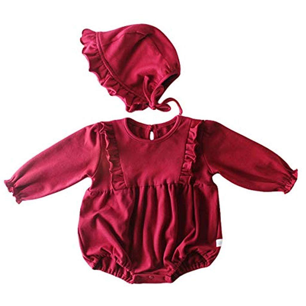 Wahyou Baby Baby Mädchen Kleidung Set Mit Kapuze Baby ...