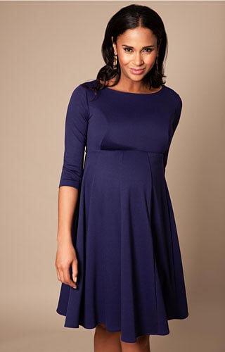 Robe de Grossesse Sienna Bleu Marine – Robes de maternité de mariée, tenues de maternité de soirée et vêtements pour soirée de Tiffany Rose