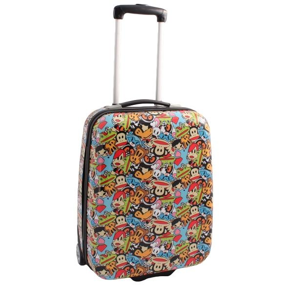 The colourful Paul Frank Suitcase with Julius the iconic monkey ...