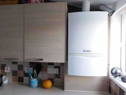 Boxing In A Boiler Boxing Using Kitchen Units Kitchen Units Kitchen Units Diy Uk Kitchen