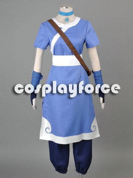 The Last Airbender Korra water tribe outfit Cosplay Costume