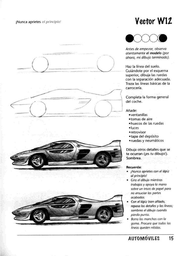 Como Dibujar Autos Paso A Paso Cotxes I Altres A Motor Dibuixar