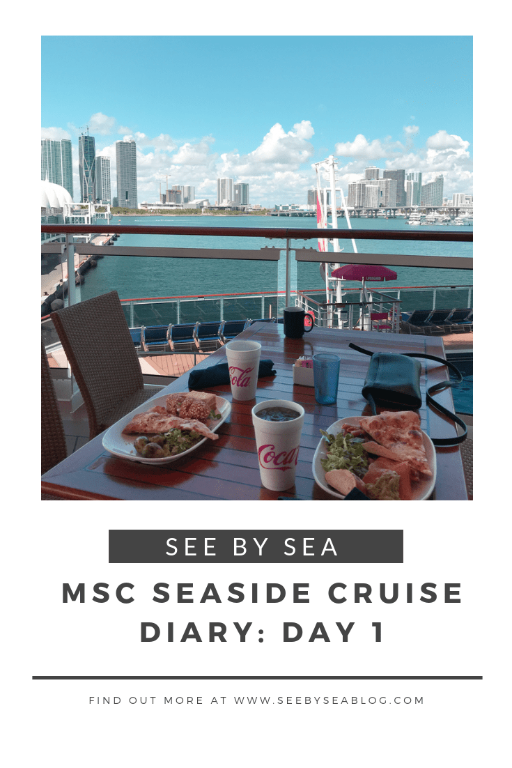 MSC Seaside Daily Cruise Diary & Review in 2019 | Cruise ...