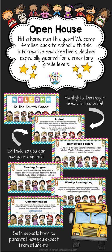 Open House PowerPoint - Meet the Teacher - Study-Buddies