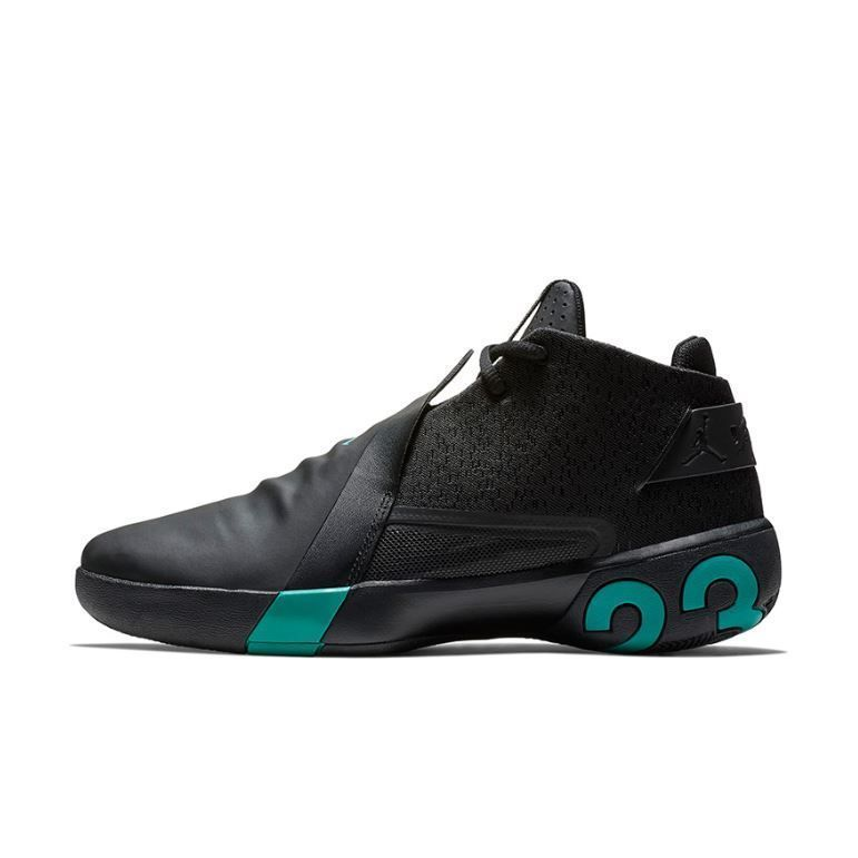 the best attitude 4d448 f8594 NIKE AIR JORDAN ULTRA.FLY 3 BLACK TURBO GREEN AR0044-003 ...