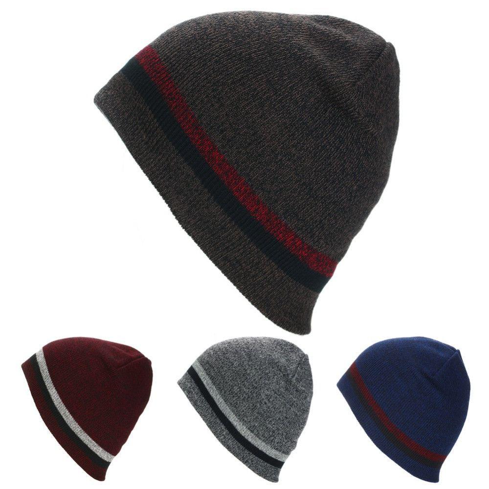 fcdb240352b Hiking Caps Mens Sport Cap Winter Hip Hop Beanies Hat Men Women Knitted  Hats Ski Cycling Cap Comfortable Sportswear Accessories