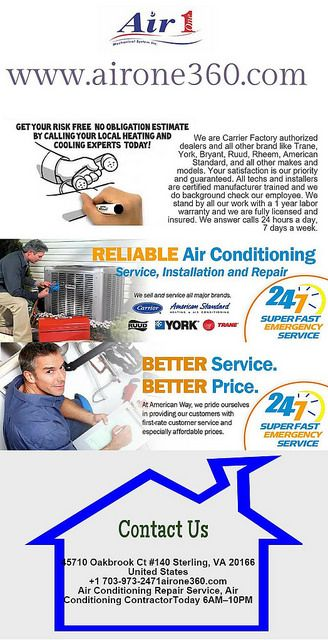 Air Conditioning Repair And Installation Clifton With Images