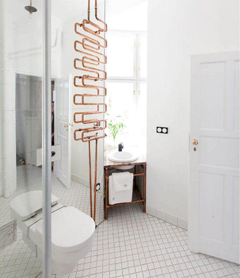 baño cobre | Baño de ensueño, Tuberias, Tubería de cobre