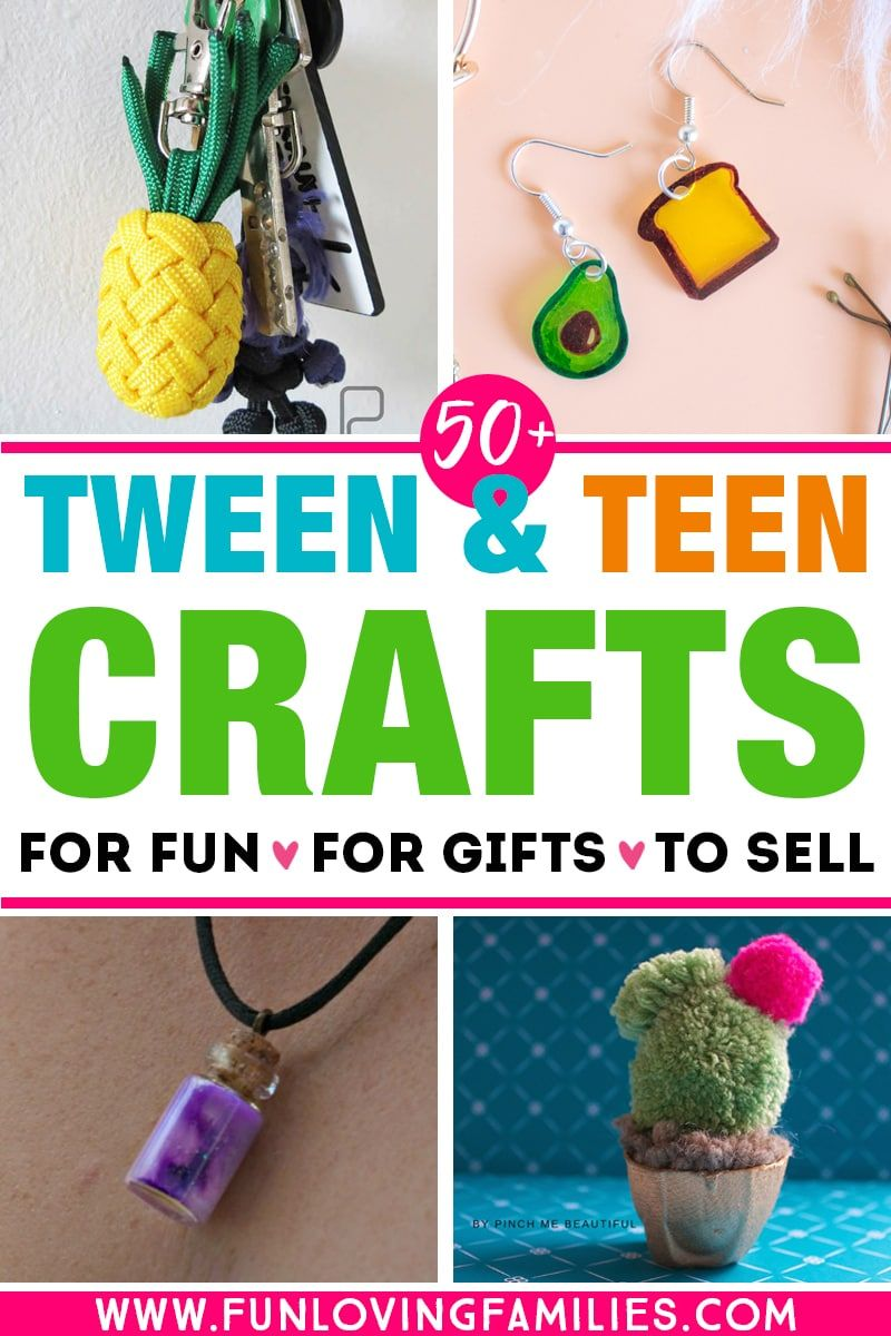 Photo of 50+ Crafts for Tweens and Teens (Fun and Easy Ideas They'll Love)