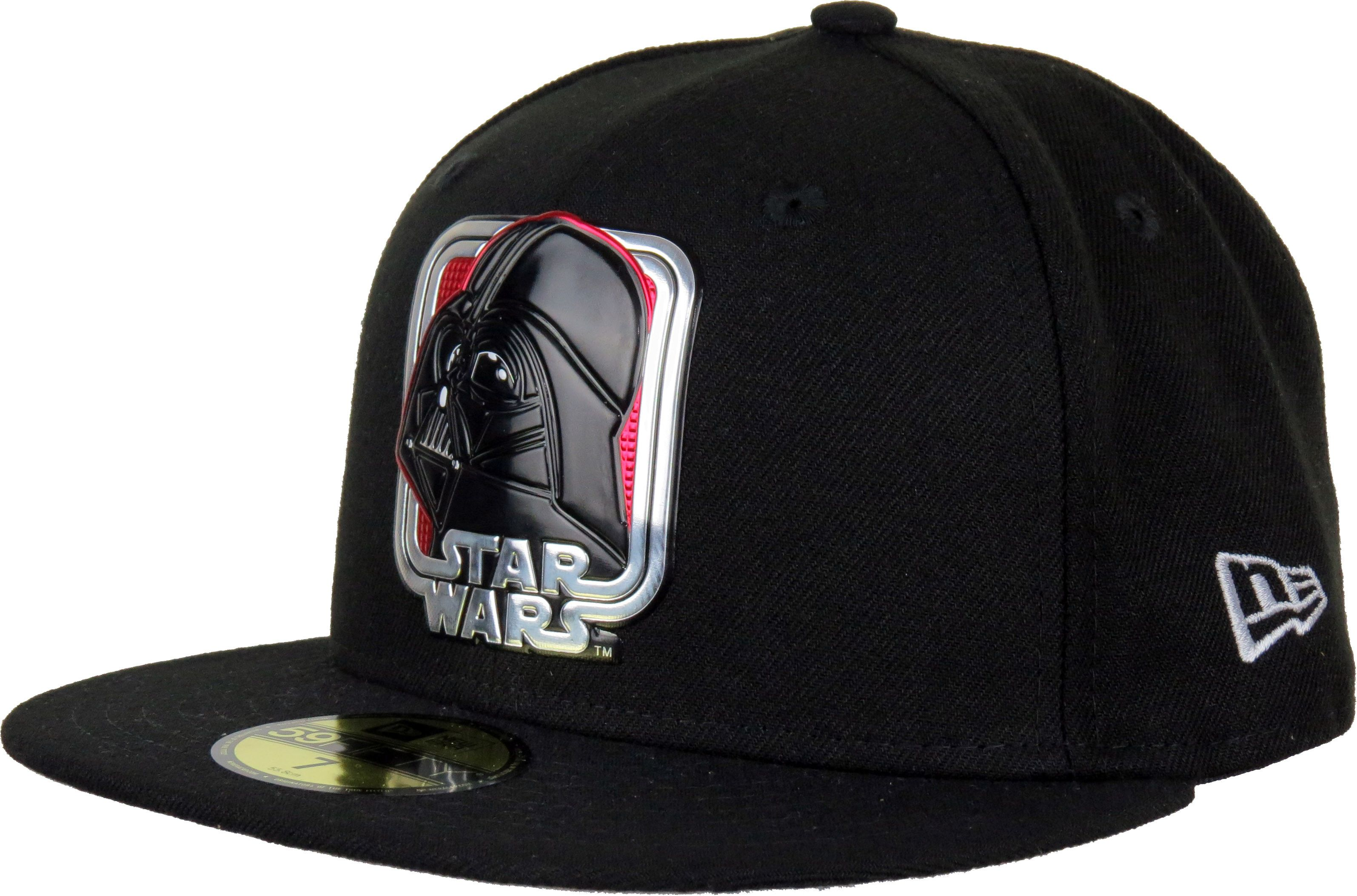 6a06614cc0c New Era 59Fifty Star Wars 40th Anniversary Fitted Black Cap. Black with the  Darth Vader