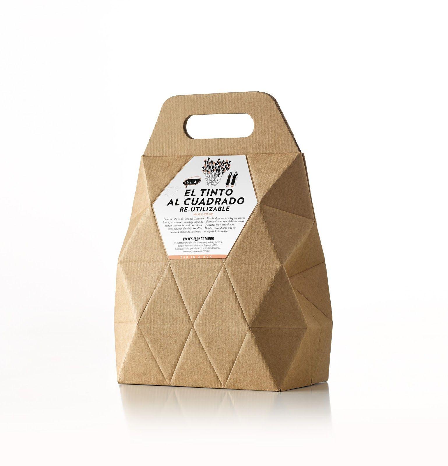 Bag In Box Viajes De Un Catador | Creative package design, Package ...