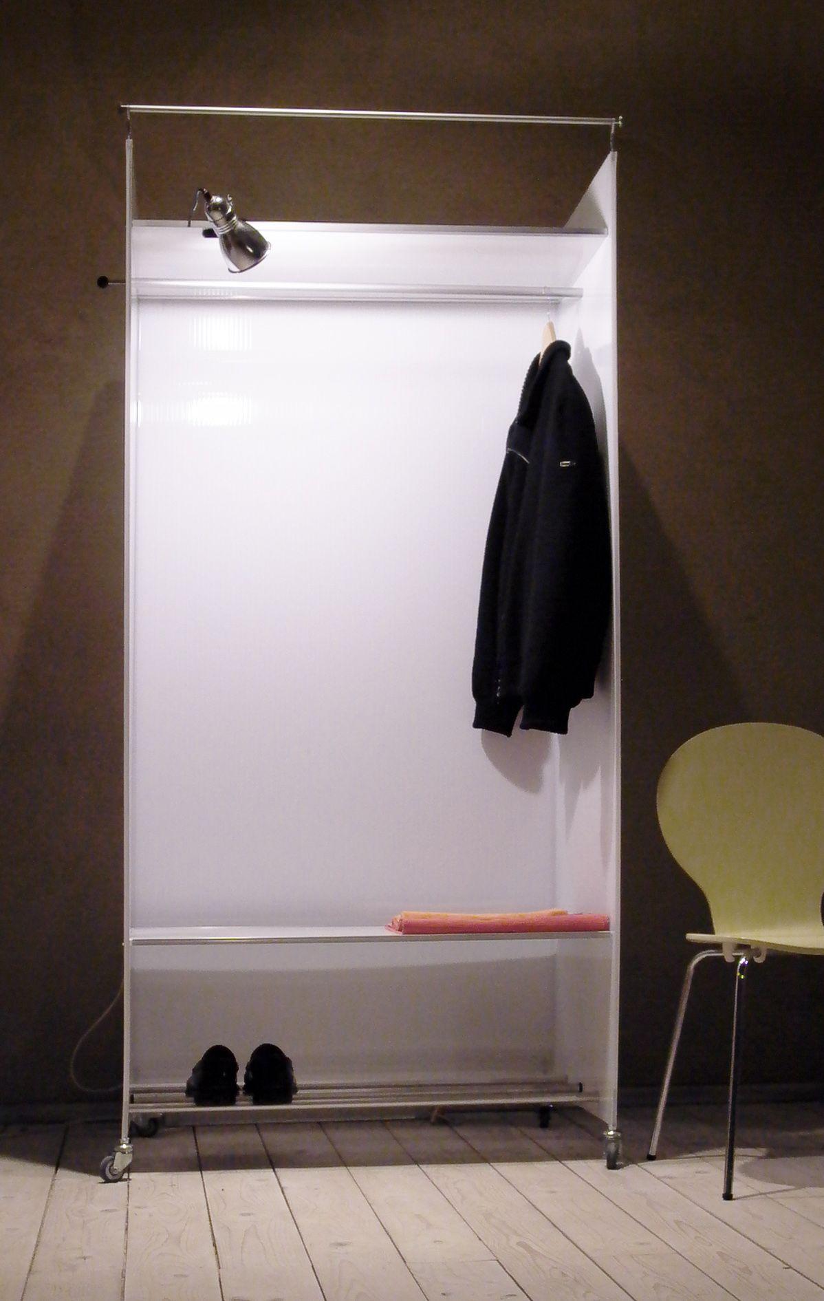 Garderobe Bzw Kleiderschrank Poly Tiefe 60 Cm Breite 90 Cm