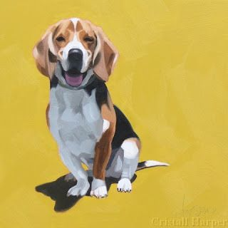 Cristall Harper Art Pet Portraits Dog Paintings Dog Art Dog