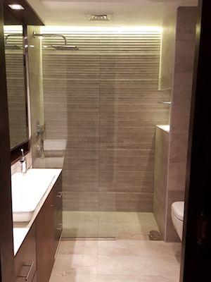 Bathroom Remodeling Modern Grey Vitra Dubai Design Walk In - Bathroom remodeling business