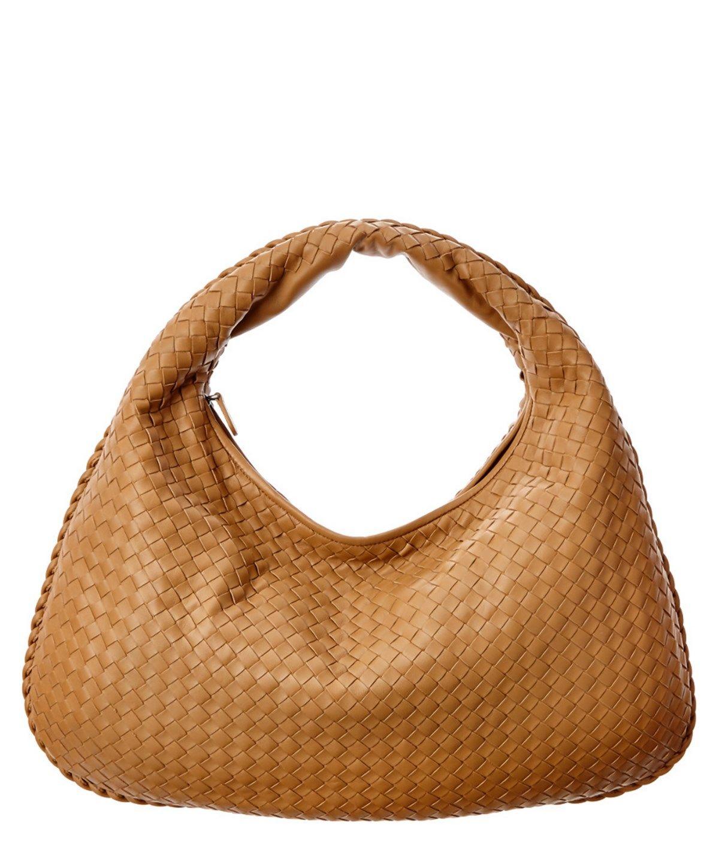 BOTTEGA VENETA Bottega Veneta Large Intrecciato Nappa Leather Veneta Hobo'. #bottegaveneta #bags #shoulder bags #leather #hobo #lining #