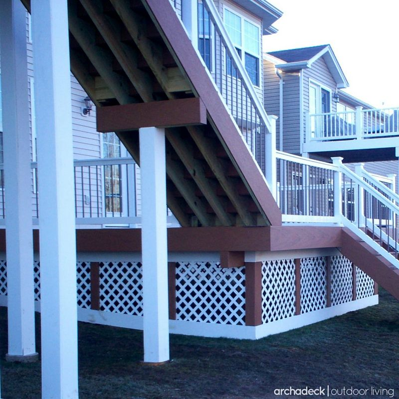 Best There Are Three Primary Deck Stair Components Risers Are 640 x 480