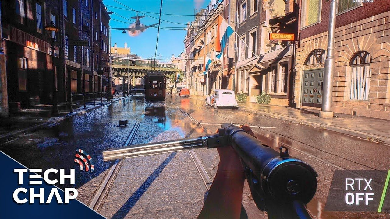Battlefield V Gameplay With Geforce Rtx 2080 Ray Tracing Extended The Tech Chap An Extended Look At Battlefield V Gameplay B In 2020 Battlefield Gameplay V Games