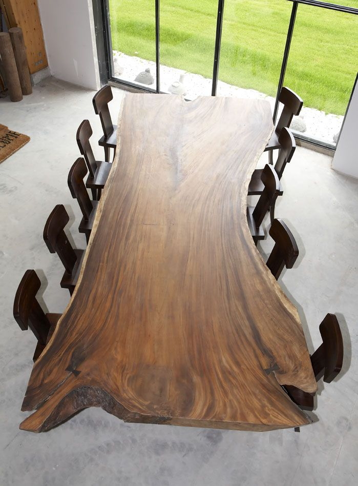 Sda Decoration Acacia Dinner Table Made Of Natural Wood