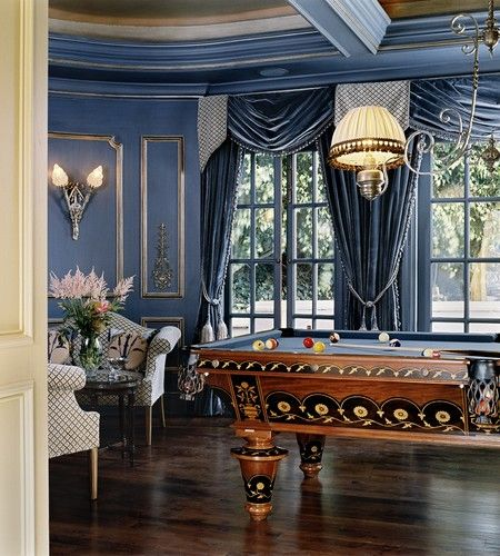 It S Possible To Have A Formal Living Room With A Pool Table
