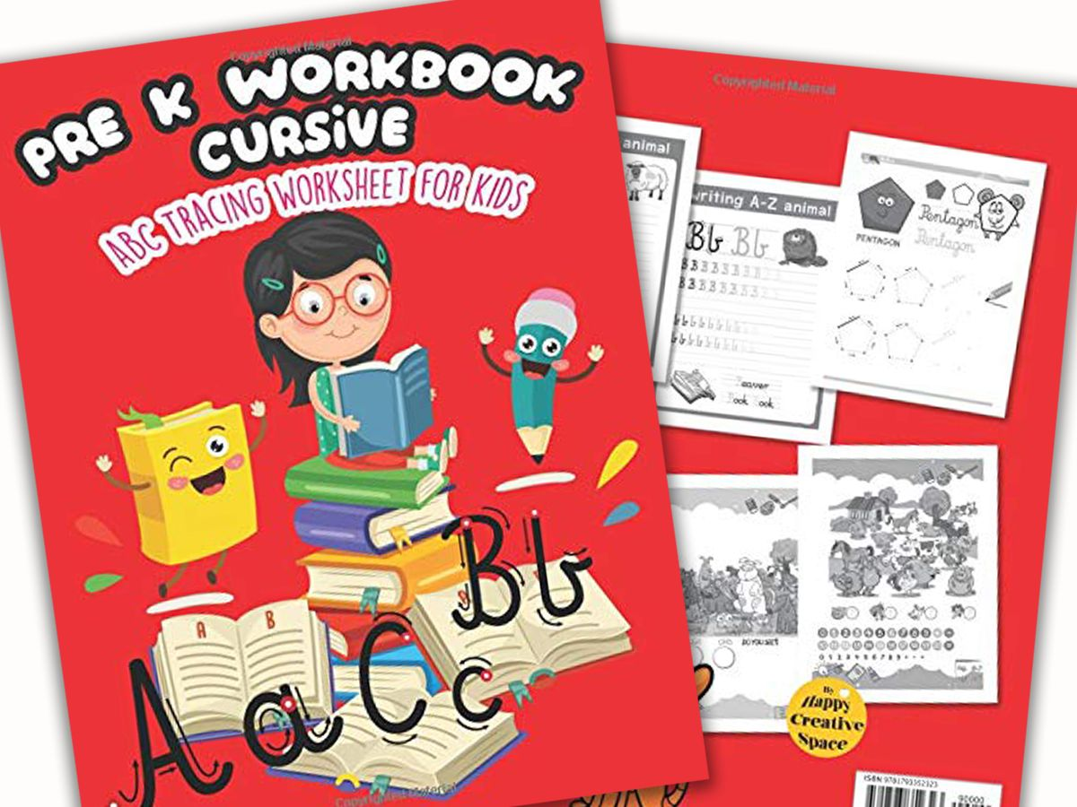 New Arrival The Best Pre K Workbook Cursive